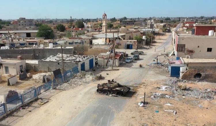 Sudan hükümetinden Libyaya giden savaşçılara baskın