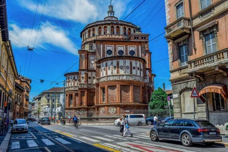 4) Santa Maria delle Grazie Kilisesi