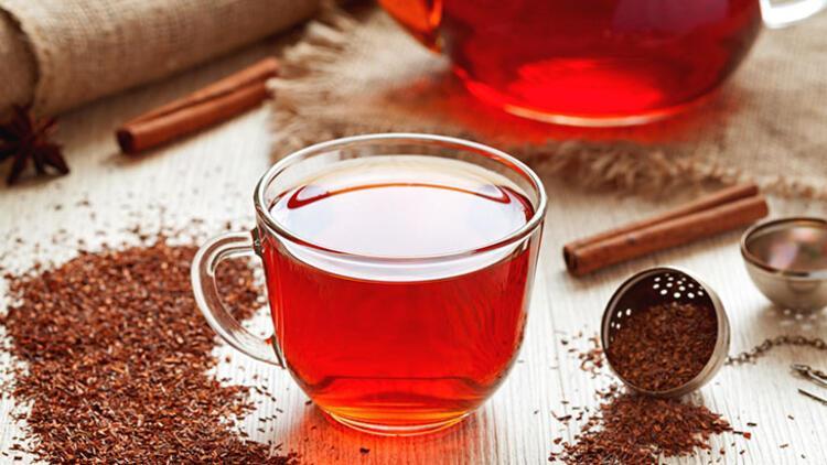 Soğuk Rooibos çayı