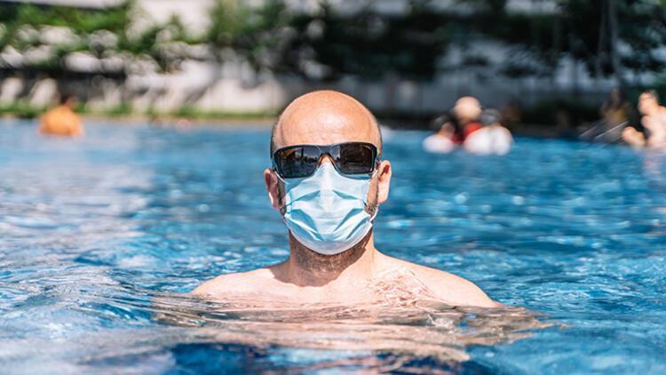 Sıcak havada maske kullanımı