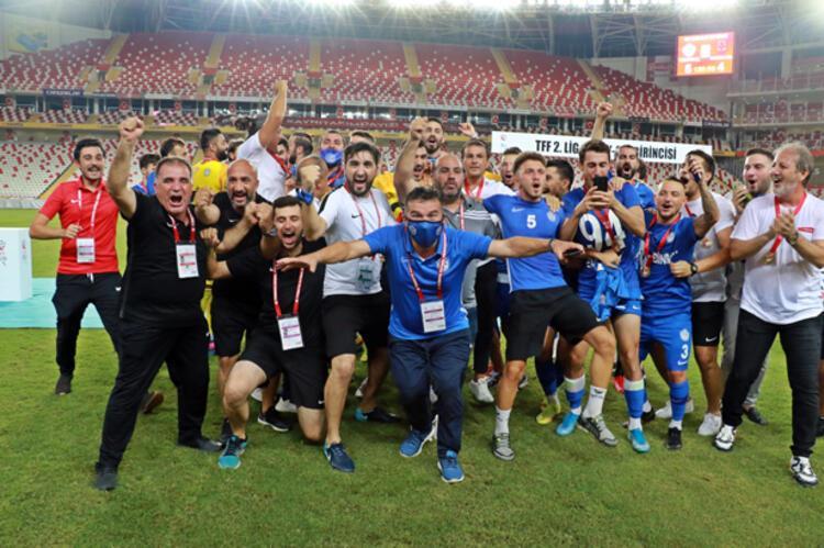 Tuzlaspor şampiyonluk sevincini böyle yaşadı