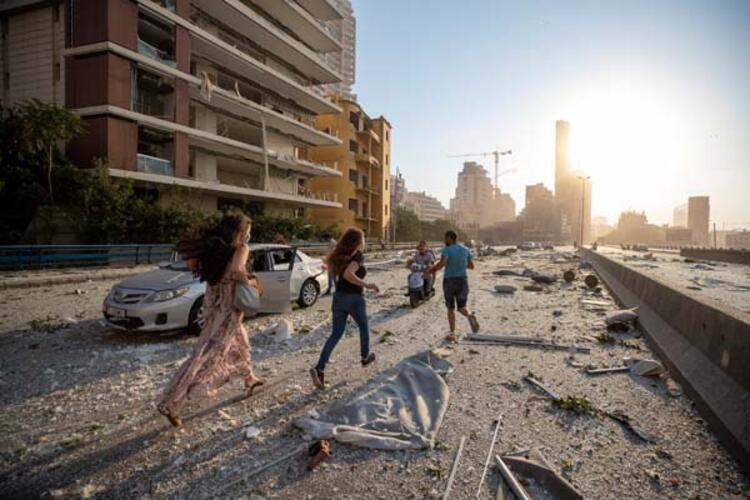 Beyruttaki patlama Kıbrısta da hissedildi