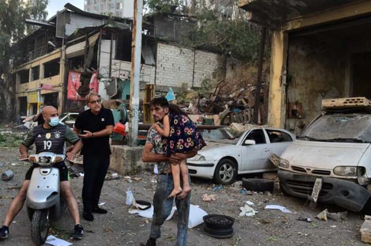 Son dakika haberler...Lübnan'da patlama! İlk görüntüler geldi ...
