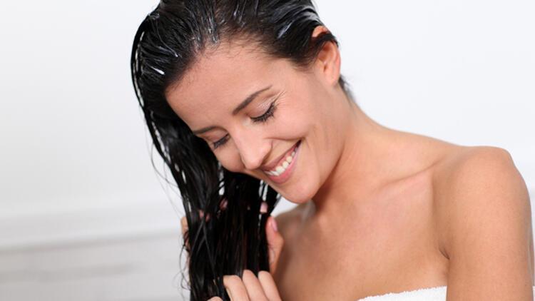 7-Saç derisine saç kremi uygulamak