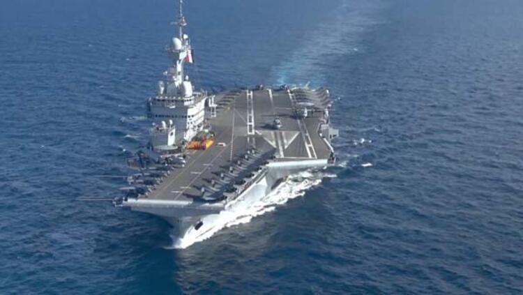 Gaulleun Doğu Akdenize doğru yola çıktığı ifade edildi