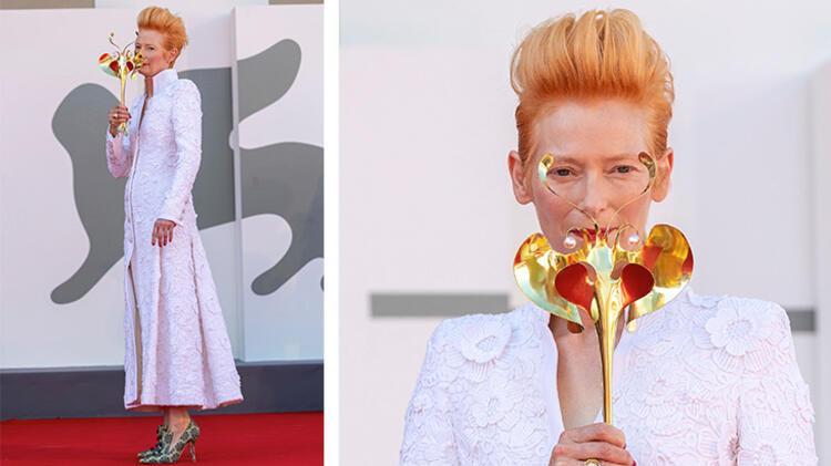 Tilda Swinton - Chanel Haute Couture