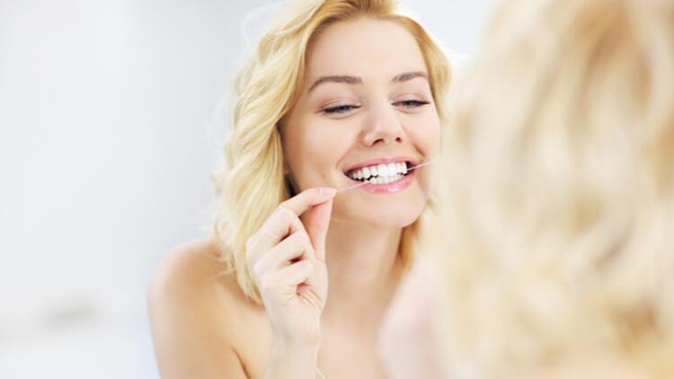 4-Diş ipi kullanmayı ihmal etmeyin