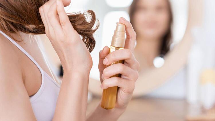 5-Yoğun şekilde saç bakım ürünü kullanmak