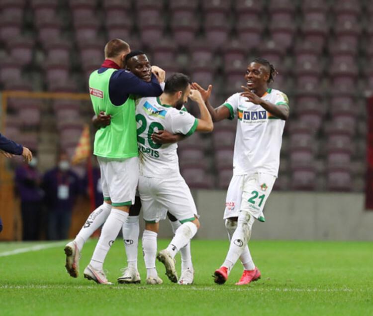 Alanyaspor, Galatasaray deplasmanında ilk kez kazandı