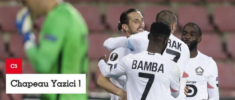France Football: Yusuftan hat-trick