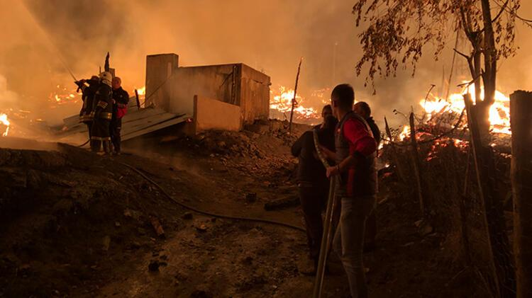 Kastamonu'da yangın! Bir köy küle döndü - Haberler Milliyet