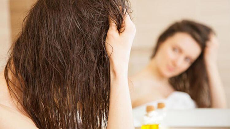 Saç kremi kullanırken dikkat