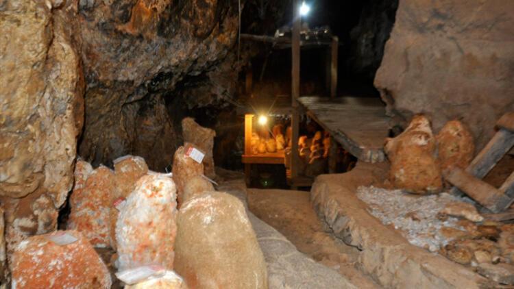 60 yıldır kullanılmayan mağara bile faaliyete geçiyor