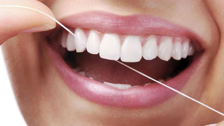 Diş ipi kullanmak çok önemli