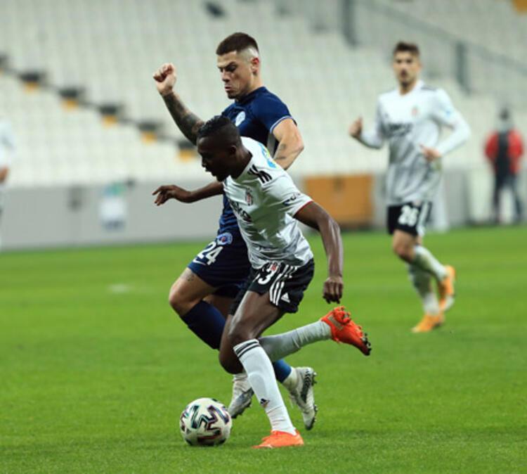 Mensah 9 maç sonra gol attı