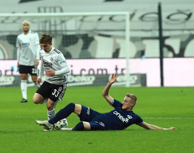 Beşiktaş ikinci kez gol yemedi