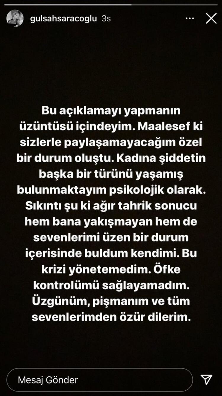 ÖZÜR DİLERİM