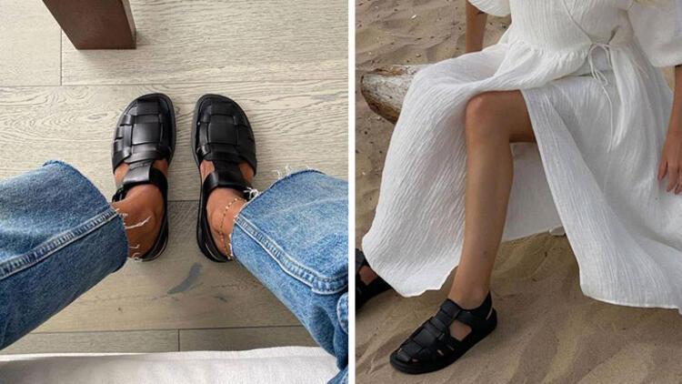 Balıkçı sandaletleri