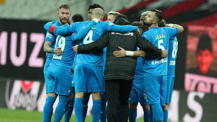Beşiktaş karşısında farklı mağlubiyet