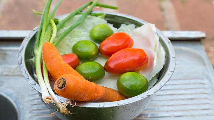 12. Meyve veya sebzeler