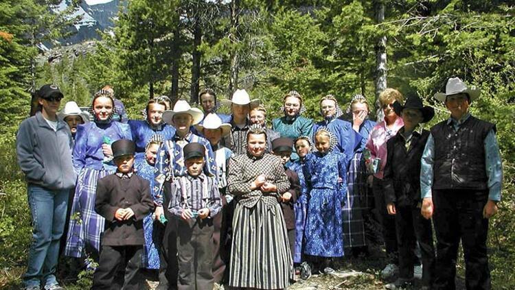 Teknolojiyi reddeden Amerikalı kabile Amişler