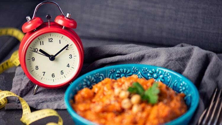 4. Geceleri aralıklı oruç diyetini uygulayın