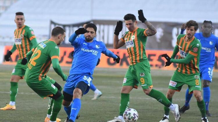 BB Erzurumspor 1-1 Alanyaspor