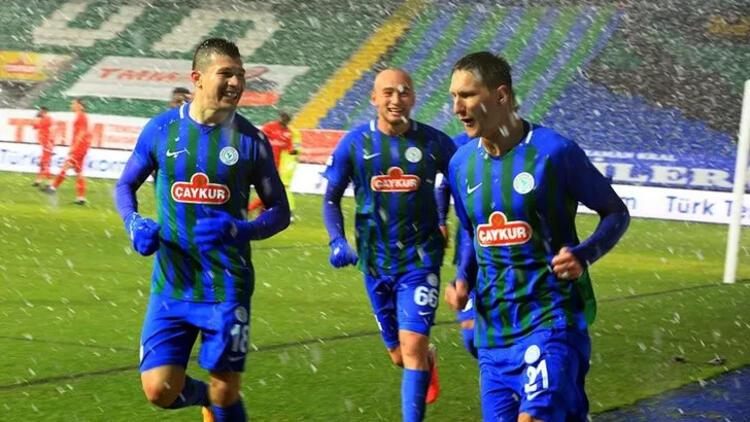 Çaykur Rizespor 3-0 Gaziantep FK