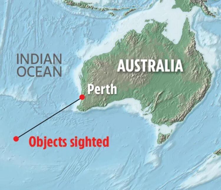 2015: Avustralyanın batısında düştü iddiası