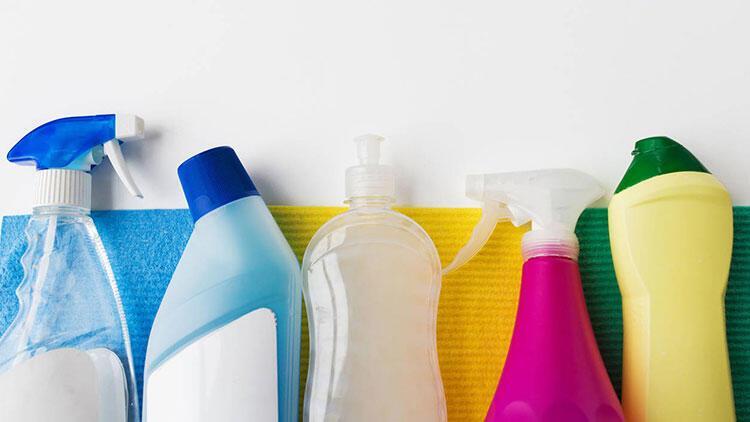 Temizlik malzemelerinin kapağını açık bırakmayın