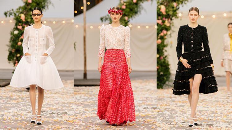 Chanel İlkbahar 2021 Couture