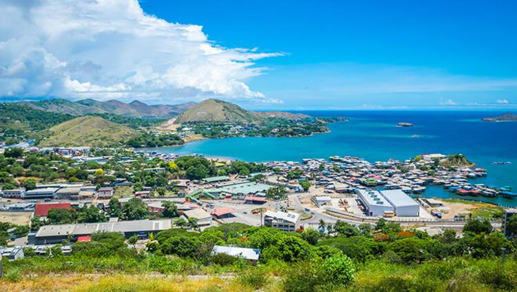 2. Port Moresby, Papua Yeni Gine
