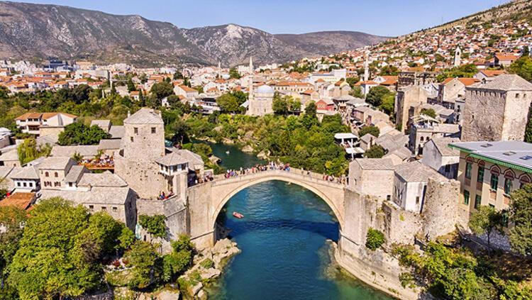 Mostar Köprüsü, Mostar, Bosna-Hersek