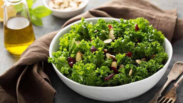 Sebze yemekleri ve salata