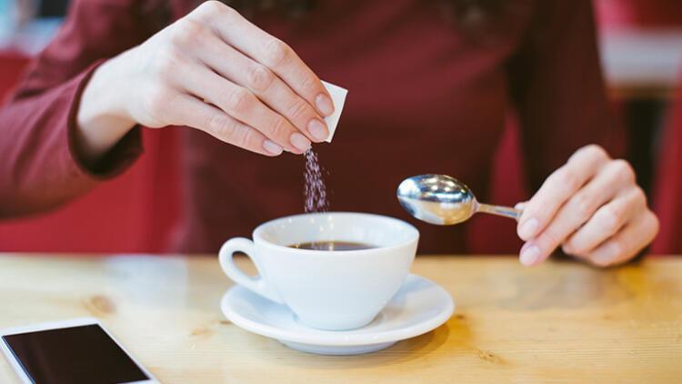 5. Şekerin yerine tatlandırıcıları koymak