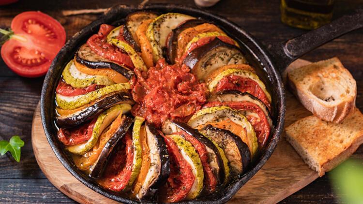1-Fırında Patlıcan Kebabı