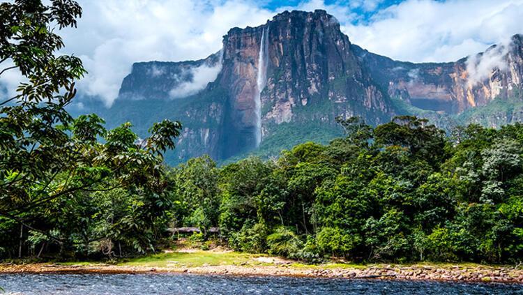Angel Şelaleleri, Venezuela