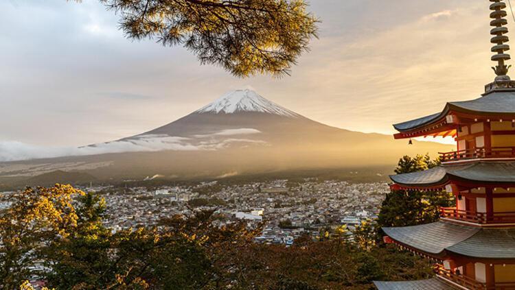 Fuji Dağı, Japonya
