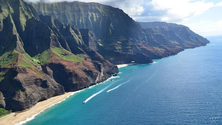 Na Pali Kıyıları, Hawaii