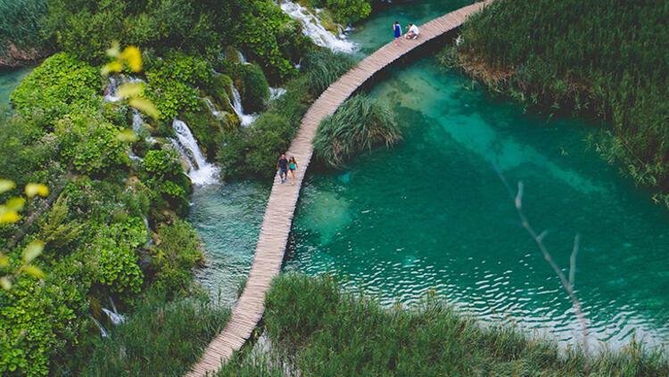 Plitvice Ulusal Parkı, Hırvatistan