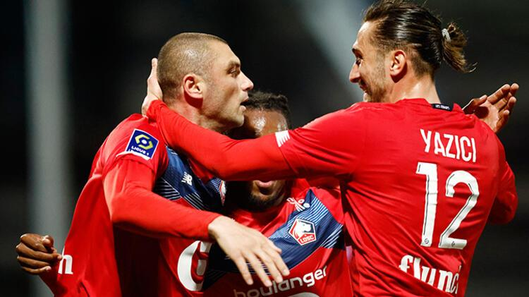 Fransa'da gündem Burak Yılmaz! Lille 10 yıl sonra şampiyon oldu