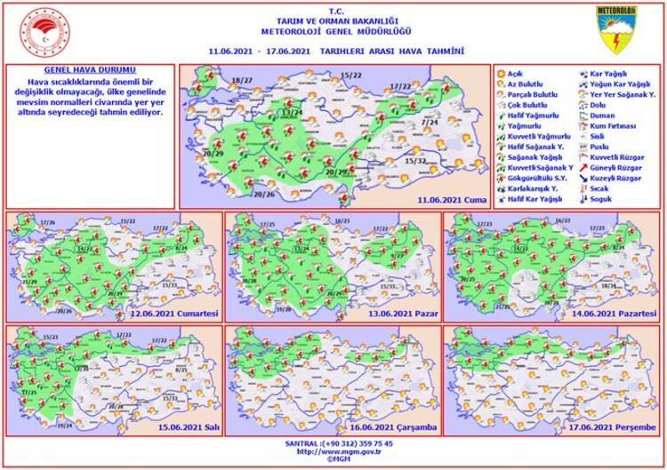 Son dakika: Meteoroloji'den yurt geneli için flaş uyarı! Kuvvetli olacak 8 – 60c22e8555428431541d4fa3