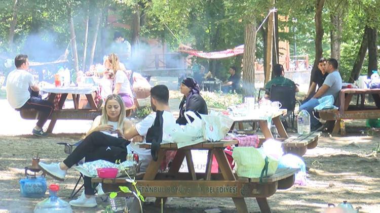 Kısıtlamasız cumartesi gününde vatandaşlar Belgrad Ormanı'na akın etti 1 – 60c4a69fadcdeb2620589d57