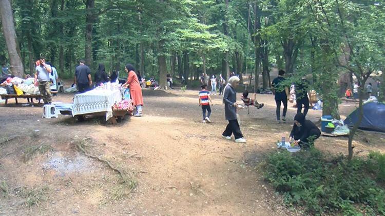 Kısıtlamasız cumartesi gününde vatandaşlar Belgrad Ormanı'na akın etti 6 – 60c4a6a5adcdeb2620589d5a