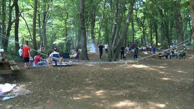 Kısıtlamasız cumartesi gününde vatandaşlar Belgrad Ormanı'na akın etti 5 – 60c4a6aeadcdeb2620589d63