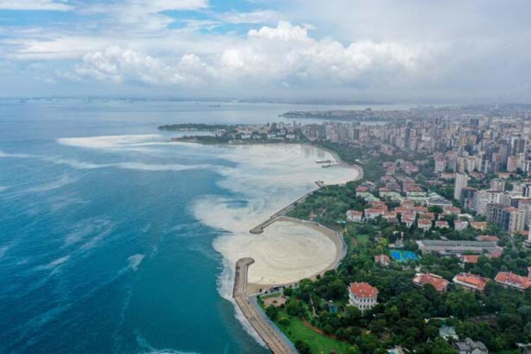 Caddebostan Sahili'nde müsilaj yoğunluğu arttı 12 – 60c8aae555428101f02f49d4