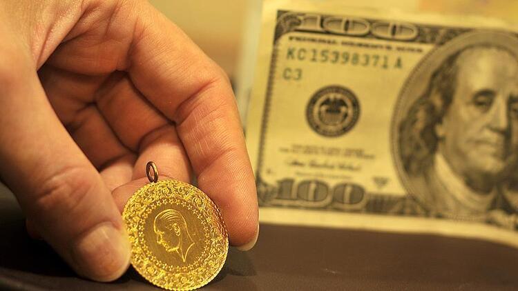 Altın yükseldi, dolar düştü