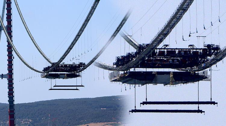 Son dakika... 1915 Çanakkale Köprüsü'nde ilk mega tabliye blok montajı yapıldı 1 – 60f6cc5486b24721407ff88d