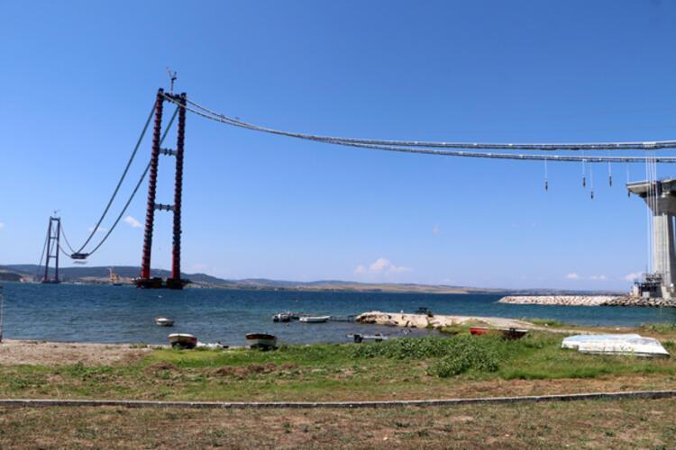 Son dakika... 1915 Çanakkale Köprüsü'nde ilk mega tabliye blok montajı yapıldı 2 – 60f6ccf886b24721407ff890