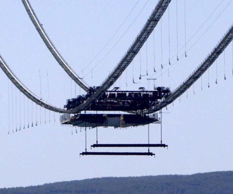 Son dakika... 1915 Çanakkale Köprüsü'nde ilk mega tabliye blok montajı yapıldı 6 – 60f6ccf886b24721407ff892
